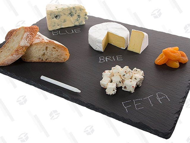 Class Up Your Cheese Tray With This $11 Slate Board