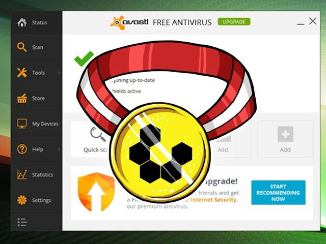 Most Popular Desktop Antivirus Application: Avast! Free Antivirus