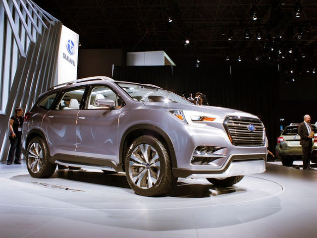 The 2019 Subaru Ascent Is The Biggest And Most Expensive Subaru Crossover Ever