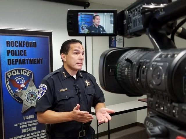 Meeting Rockford's new top cop