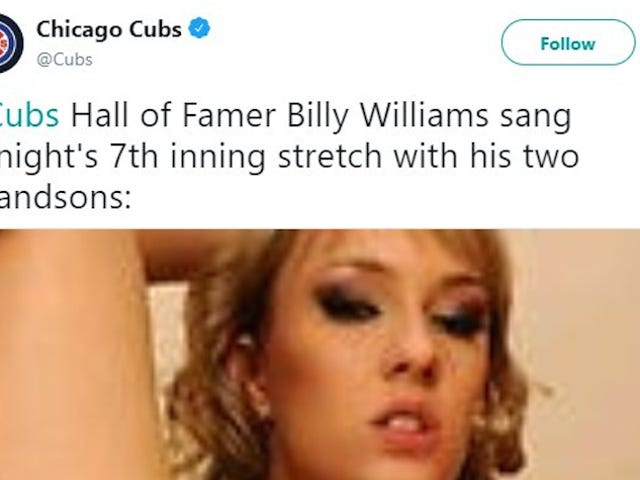 This Is Probably How The Cubs Ended Up With Porn In An Old Tweet [Update]