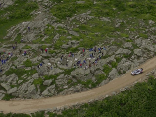 Travis Pastrana Broke The Mount Washington Hillclimb Record And The Run Looks Absolutely Mental