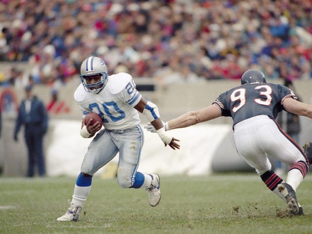 Barry Sanders Was The Coolest Football Player Who Ever Lived