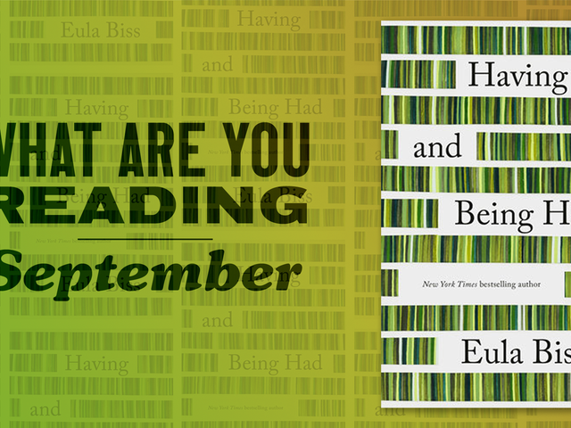 What are you reading in September?
