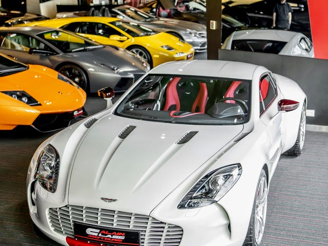 How Dubai does supercars