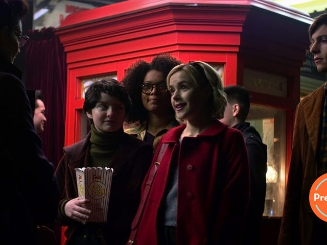 Chilling Adventures of Sabrina gives the world a teen witch and the oblivious mortals who love her