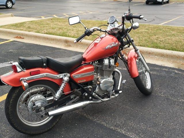 Sold: Honda Rebel