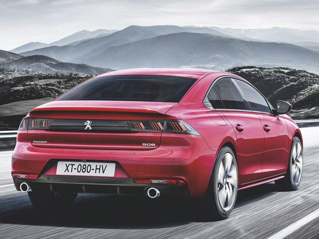 New Peugeot 508 leaked. Edit: pictures updated to HQ