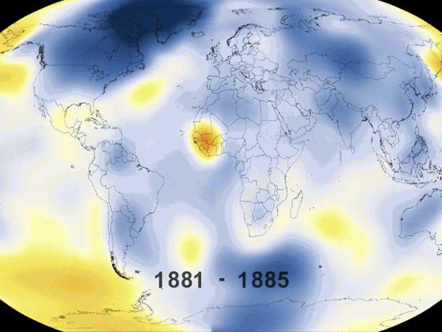 2015 ha sido, con diferencia, el año más caluroso desde que se tienen registros