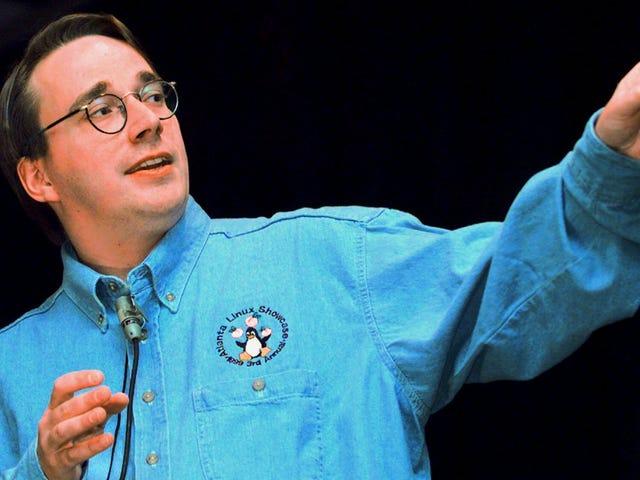 Linus Torvalds no está contento con la fusión de Intel y el lío del espectro