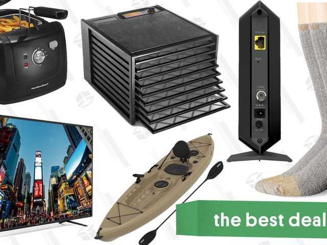 "Saturday's Best Deals: 65"" TV, Meat Boxes, Carhartt Socks, and More"