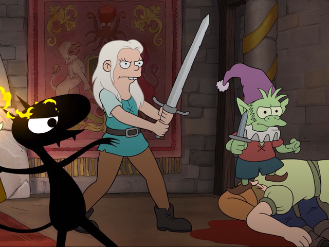 """Bean throws a party and Elfo plays """"Nice Guy"""" on a solid Disenchantment"""