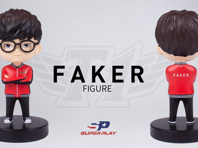 "Legends League for Lee ""Faker"" Sang-hyeok har nu sin egen collectible figur fra Super Play"