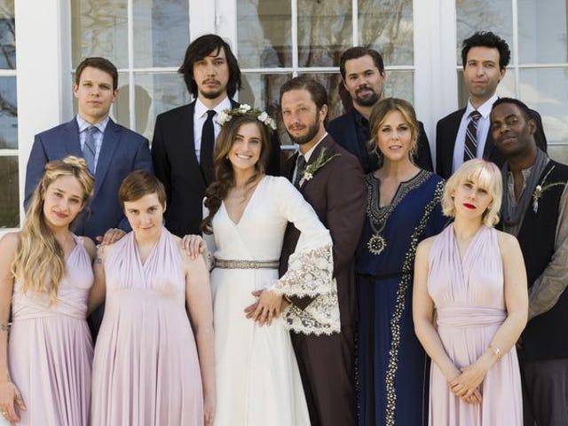 Girls , büyüleyici, düşük anahtar bir beşinci sezon galasında büyüyor