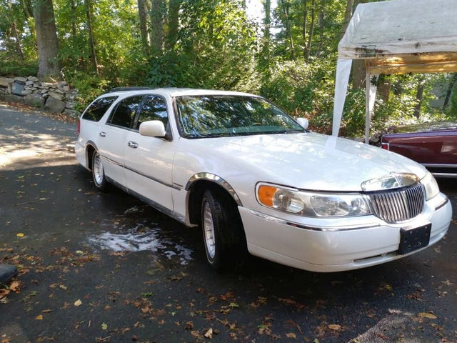 At $7,500, Would You Go To Town In This Custom 2000 Lincoln Town Car Station Wagon?
