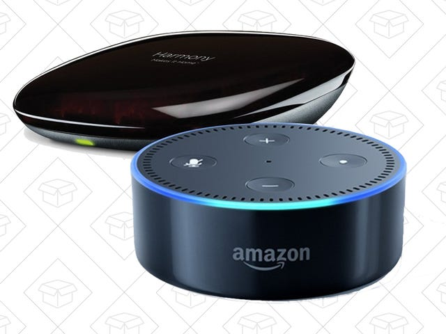 Buy a Logitech Harmony Hub, Get an Echo Dot For About $15 Extra