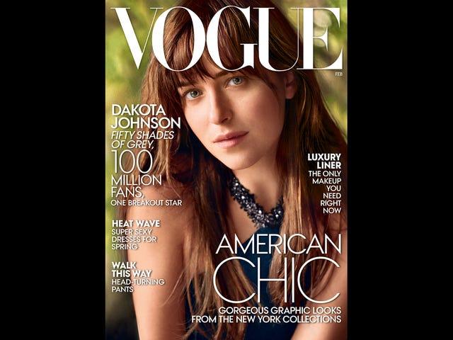 Klinkt als Dakota Johnson kan nog steeds niet Jamie Dornan ...