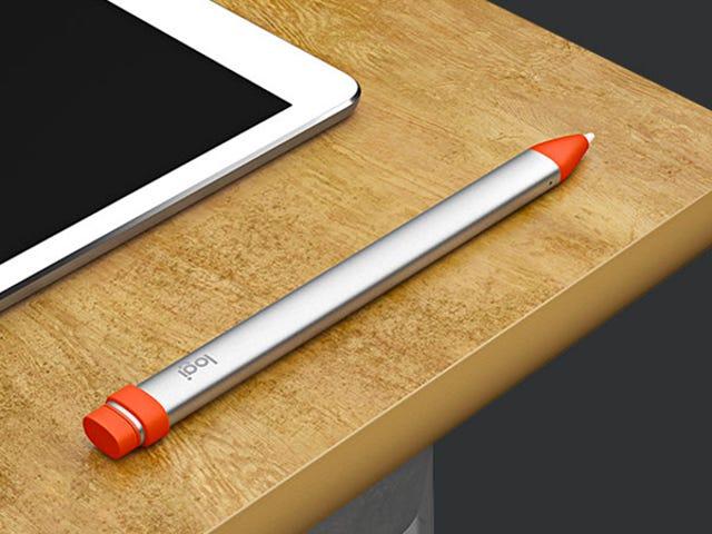 Logitech's $49 Crayon Is a Stubbier, Cheaper Apple Pencil