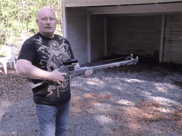 Снайперская винтовка Fallout становится гигантской рогаткой