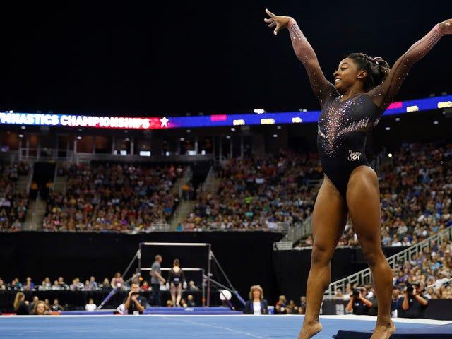 Simone Biles gewinnt weiter