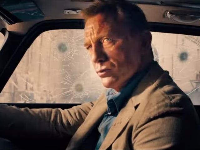 Retirement isn't easy in the official trailer for No Time To Die