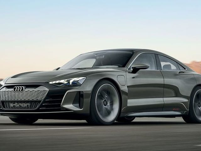 The 2020 Audi E-Tron GT Concept Is an Incredibly Handsome 590 HP Electric