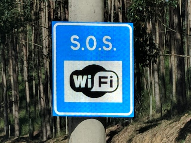 Thank Goodness for Emergency Roadside WiFi