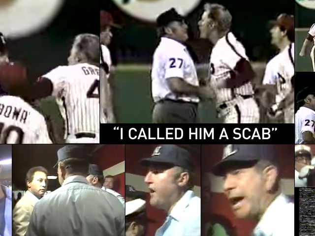 Big League Bullying : MLB 심판을 모욕 한 음모 Steve Fields