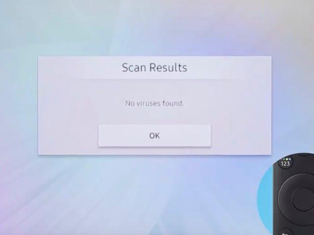 Samsung Deletes Frightening Tweet Warning That Its Smart TVs Can Get Viruses