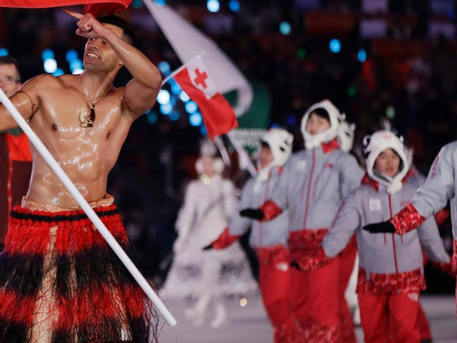 Okay, About The Cold At The Olympic Opening Ceremony