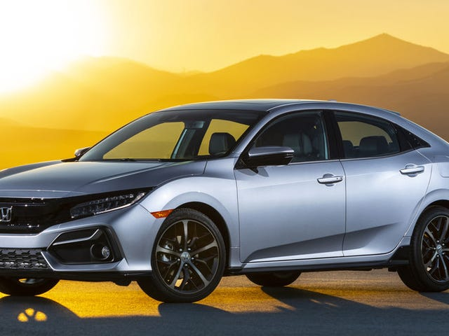 The 2020 Honda Civic Hatchback Gets The Manual For The Top Trim