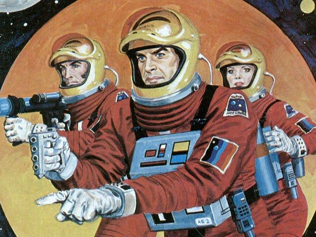 Τα κόμικς σε τροχιά γύρω από το Moonbase Alpha