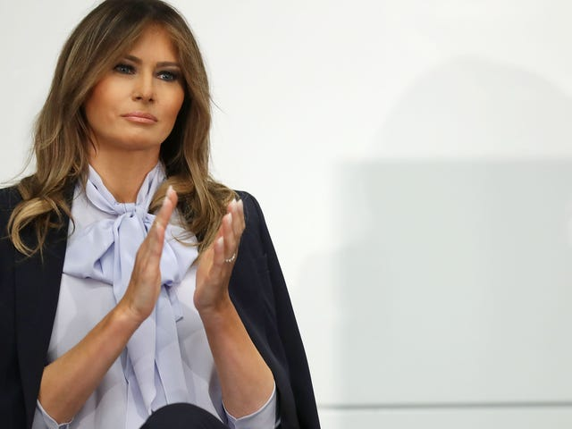 Not Like This: Melania Trump Tries to Middle Ground #MeToo (and Frankly, It's Gross)