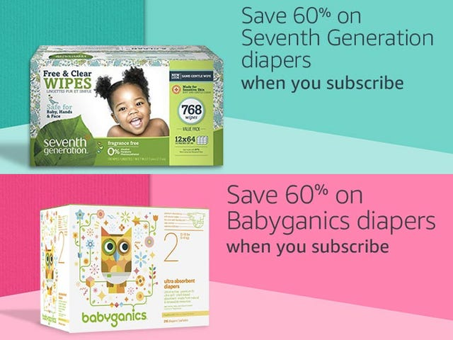 Save A Crap-Ton Of Money With These Prime-Day-Discounted Diapers