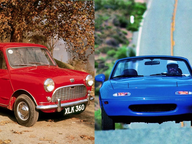 Two Very Fun Cars Celebrate Important Anniversaries This Year