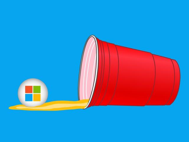 """Microsoft veut que les """"stagiaires de Bae"""" obtiennent un """"lit"""" lors de sa soirée bière-pong"""