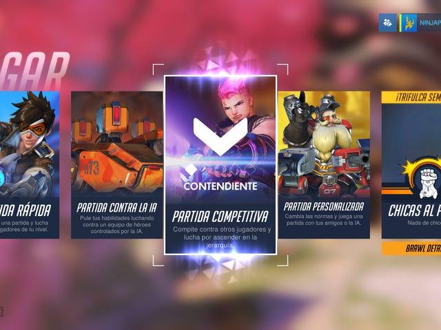 El modo competitivo llega (por fin) a Overwatch