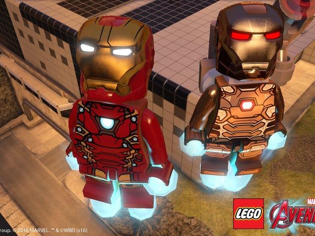 PlayStations Get Free <i>Civil War</i> And <i>Ant-Man </i>DLC For<i> LEGO Avengers</i>