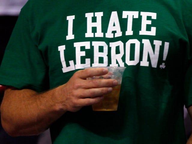 En luota mustiin miehiin, jotka vihaavat LeBron Jamesia