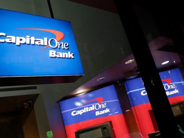 Un hacker robó datos de Capital One sobre 106 millones de clientes, y el FBI dice que ella twitteó al respecto