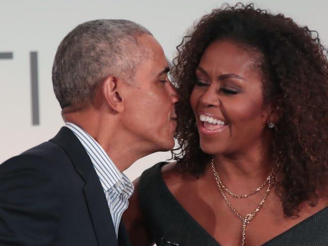 Per sempre, per sempre, per amore: al 56 ° compleanno di Michelle, lei e Barack sembrano più sballati che mai
