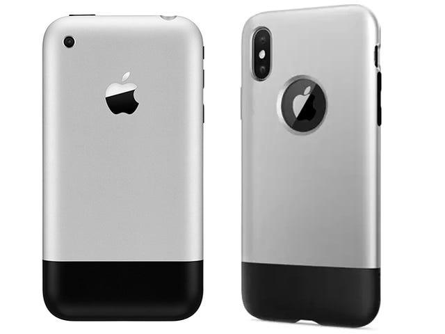 जोनी Ive को फिंगर दें जो आपके आईफोन एक्स को मूल की तरह दिखता है