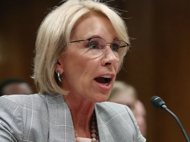 Education Department Reportedly Considering Plan to Let School Districts Use Federal Funds to Arm Teachers