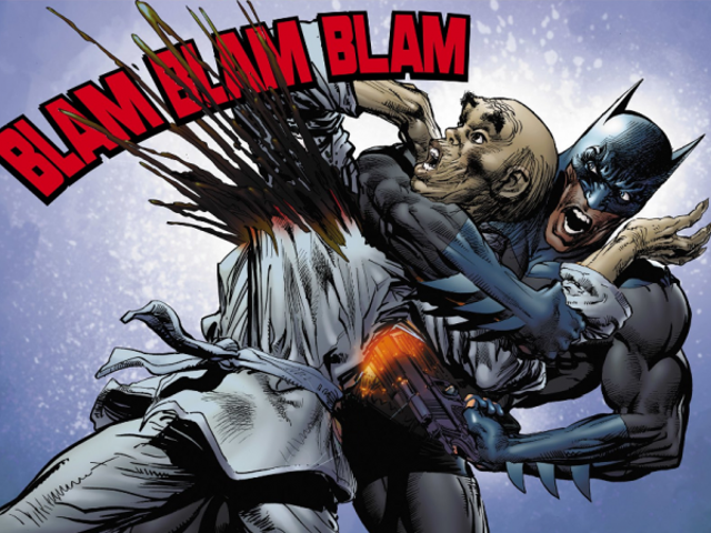 Why fans cringe when Batman uses a gun
