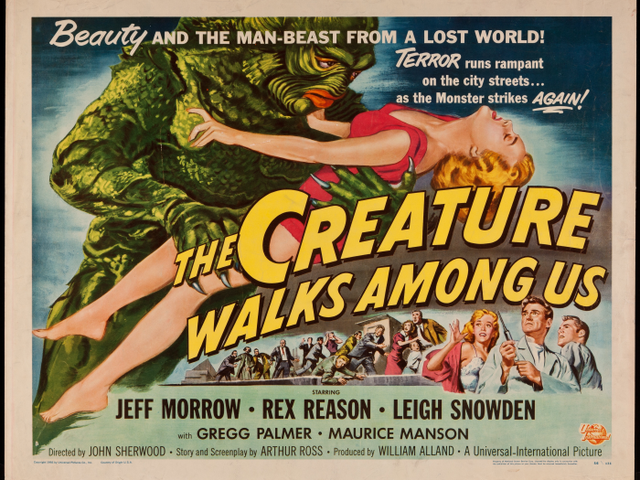 Svengoolie: The Creature Walks Among Us (1956)