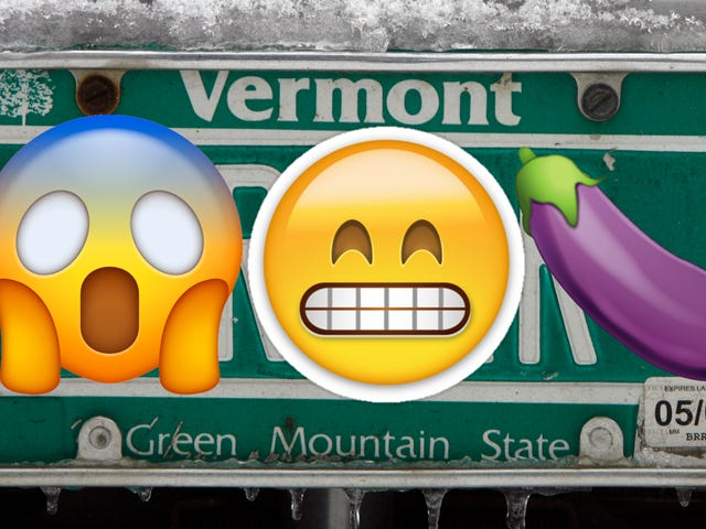 Vermont Might Become The First U.S. State With Emoji Vanity Plates