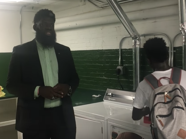 To Combat Bullying, Newark, NJ, High School Principal Installs Laundry Room