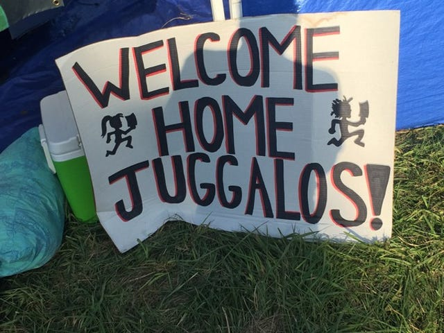 2015 Gathering Of The Juggalos: Children, a wedding, and Juggalos For Jesus