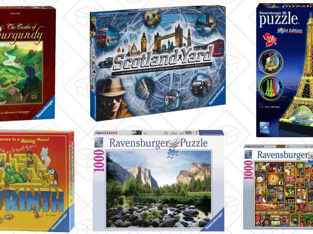 Hunker Down For the Holidays With This One-Day Board Game and Puzzle Sale