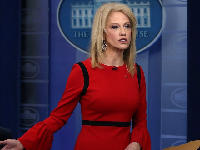 A Reminder That Kellyanne Conway Is Not Good at Her Job, Whatever That Is